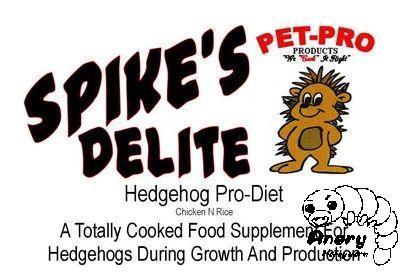 Pet-Pro Spike's Delite Pro-Diet〈ハリネズミフード〉当店売り上げNo1フード 食いつきが違います 全年齢対応 総合バランス栄養食..