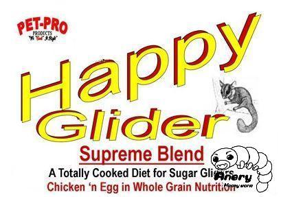 Pet-Pro HappyGlider Supreme Blend〈フクロモモンガ専用フード〉メーカー推奨の至高のブレンド ハッピーグライダー・スプリームブレンド
