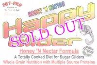 新商品 Pet-Pro HappyGlider Honey `N Nectar 〈フクロモモンガフード〉 ハッピーグライダー・ハニー&ネクター